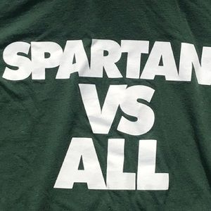 Nike Athletic Cut Michigan State Spartans Tee